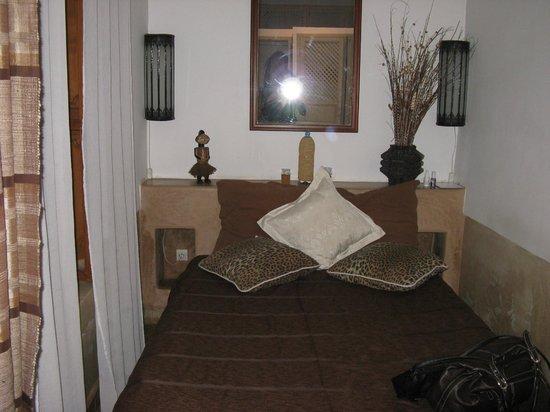 Riad Miski: 2persoonskamer op de beneden verdieping