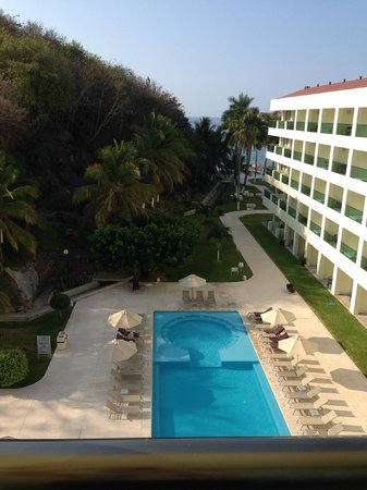 Dreams Huatulco Resort & Spa: View from room 1508