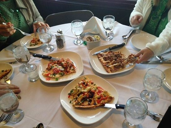 Omaha Culinary Tours: Lavosh at one of the stops on the Old Market Walking Food Tour