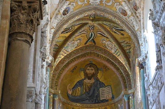 Duomo di Cefalu : Византийские мозаики в соборе