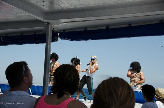 """Marietas Islands: The """"mock-rock"""" band performed by our great crew"""