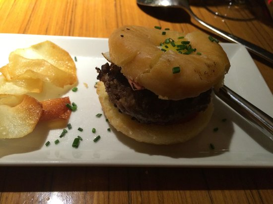 Albarama Restaurante Tapas: Tapas Burger