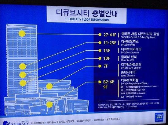 Sheraton Seoul D Cube City Hotel: D Cube City