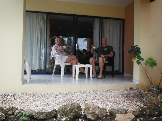 Casa Marina Reef: Our front stoop