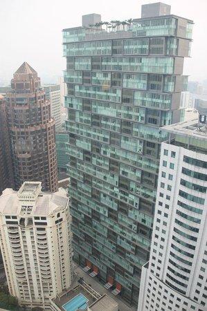 Grand Hyatt Kuala Lumpur : View from the room on 36th floor