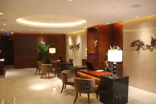 Grand Hyatt Kuala Lumpur : Entrance of teh club lounge