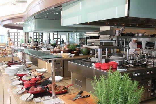 Grand Hyatt Kuala Lumpur : Breakfast buffet in Thirty8
