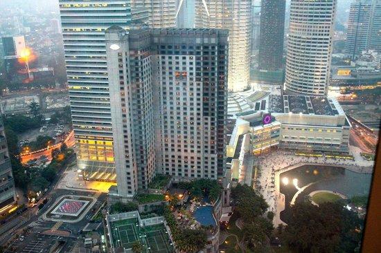 Grand Hyatt Kuala Lumpur : View from the lounge