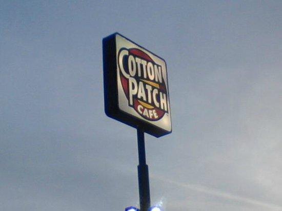 Cotton Patch Cafe: Cotton Patch Sign