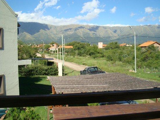 Cabañas Amatista: Vista desde el balcon de la hab.