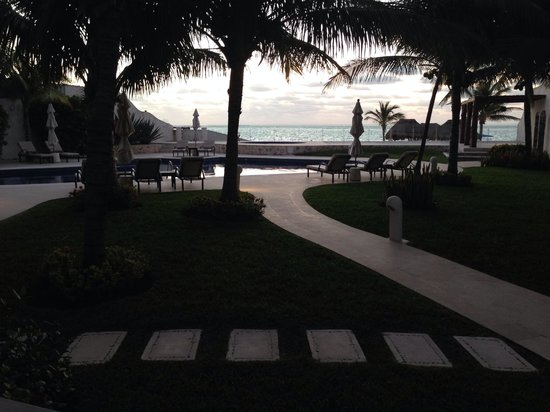 Azul Beach Hotel : View from the villa staring out at sea.