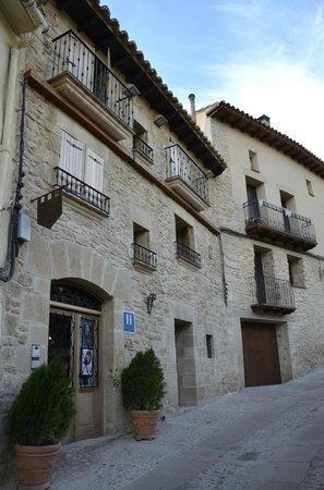Hotel El Castell: fachada