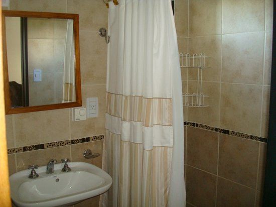 Cabañas Amatista: Baño