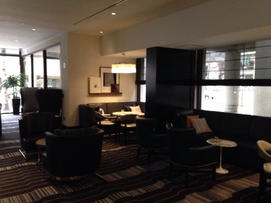 Le Meridien San Francisco: New bar seating area