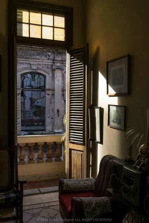 Casa Tania Miguel: from Living Room to balcony