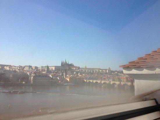 Hotel Leonardo Prague: Daytime view from room