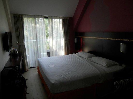 Santa Grand Hotel Bugis: Vue de notre chambre