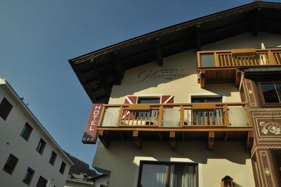 Glasererhaus: Балкон