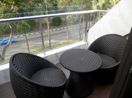 Santa Grand Hotel Bugis: Vue du balcon