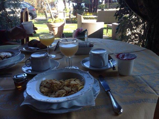 La Palma Hotel : Colazione