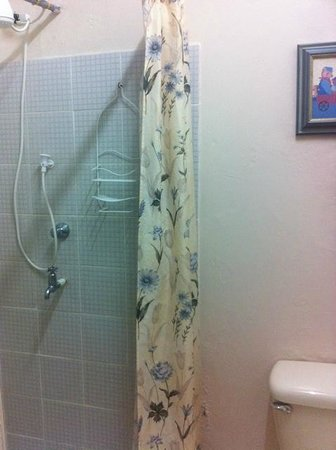 Casabella Bed & Breakfast: Shower