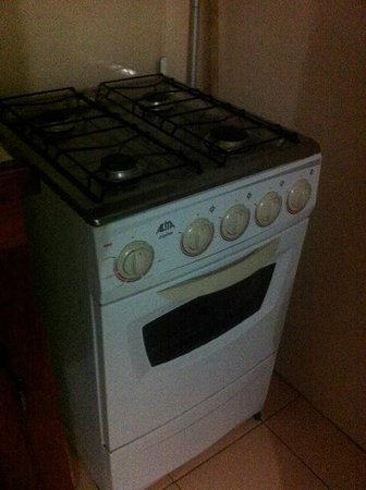 Casabella Bed & Breakfast: Gas stove