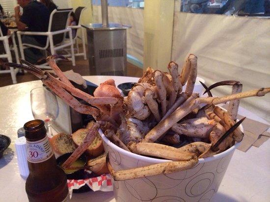 Seafood Atlantic: The bucket of Golden Crab