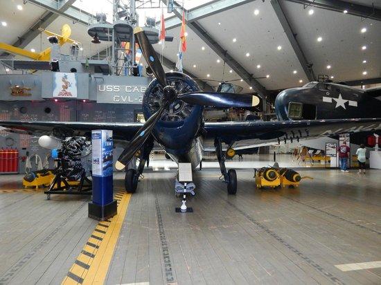 National Naval Aviation Museum: Navy WW2 Avenger
