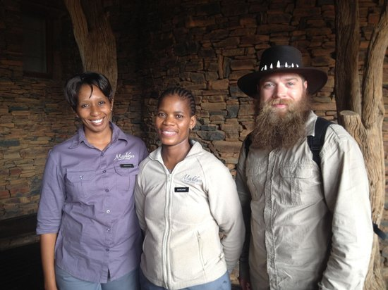 Madikwe Safari Lodge: Staff and son