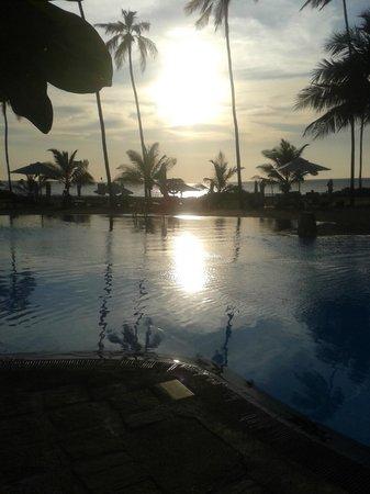 Club Hotel Dolphin : coucher de soleil