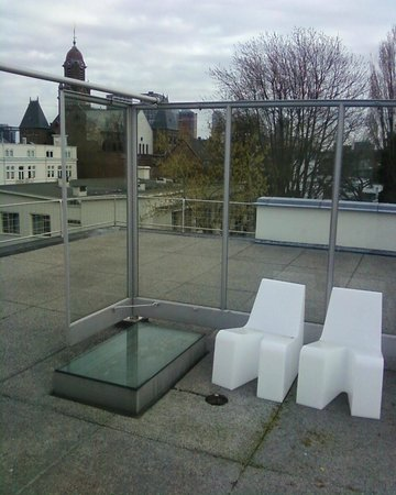 Huis Sonneveld: roof terrace