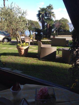 La Palma Hotel : Vista mentre si fa colazione