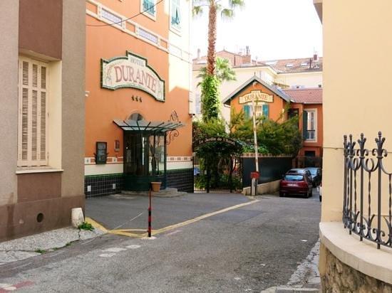 Hotel Durante: entrance