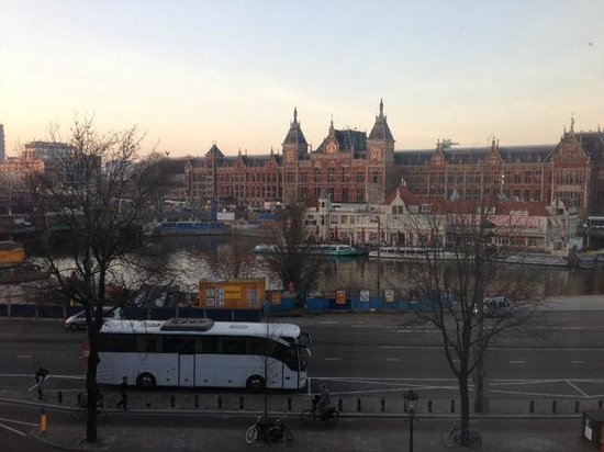 NH Collection Amsterdam Barbizon Palace: View from our room