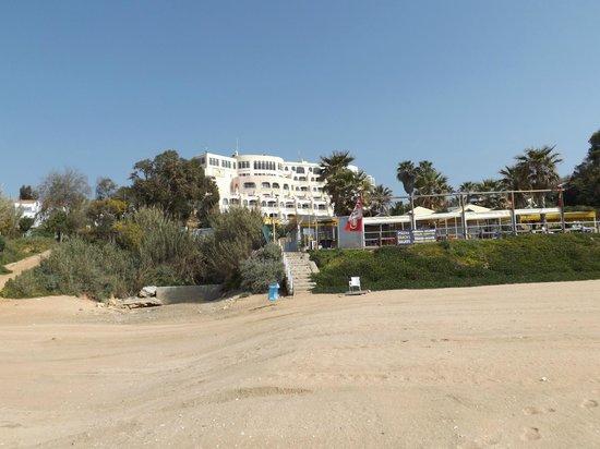 Monica Isabel Beach Club : View from beach