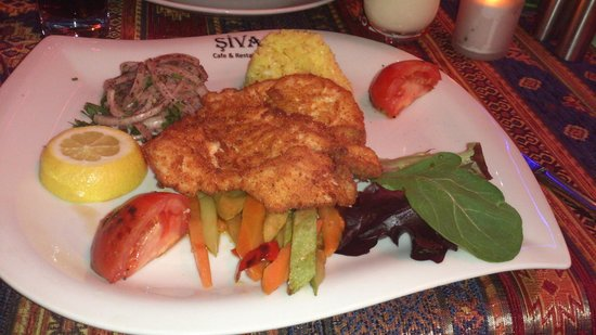 Şiva Cafe Restaurant: Hähnchen