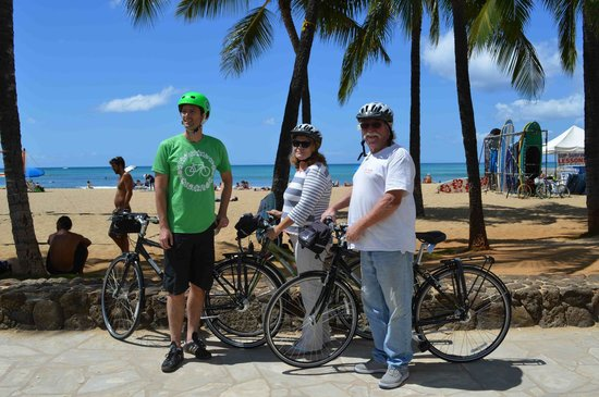 Pedal Bike Tours: Jennifer and me with our guide Todd!