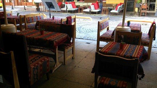 Şiva Cafe Restaurant: Blick ins Siva Cafe