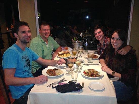 La Dama Juana: Con amigos
