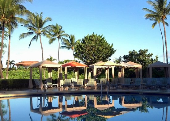 Pool area Picture of Makena Beach