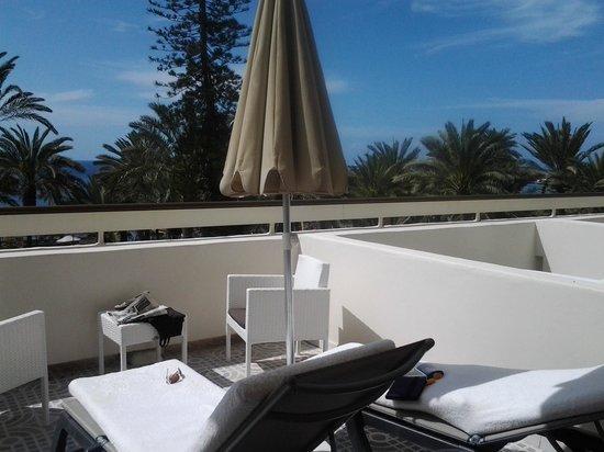 Hotel H10 Big Sur : 2nd floor balcony