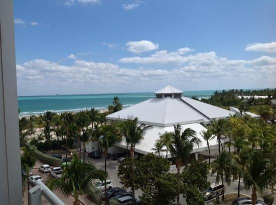 Hilton Bentley Miami/South Beach: Beach view