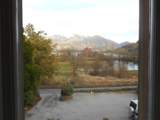Lakeside Country Guest House: view from room 4 window