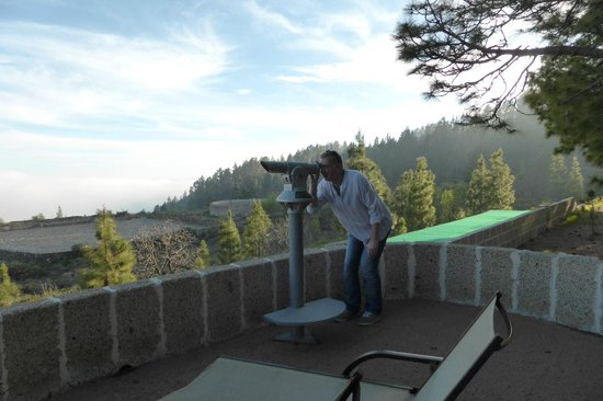 Hotel Spa Villalba: Telescope for stargazing