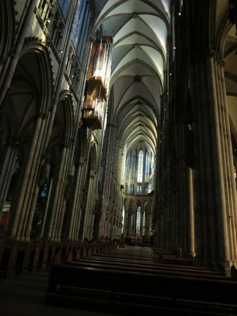 NH Köln Mediapark: Inside the Cathedral. Attend Sunday service to get the full feel of it.
