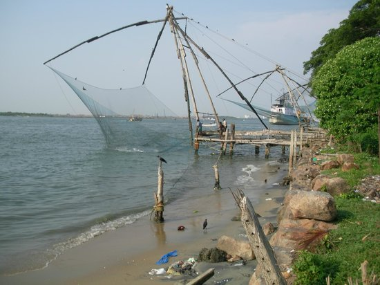 Kochi (Cochin), India: chinese fishnet