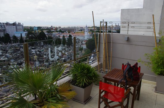 Urban Suites Recoleta Boutique Hotel: View from rooftop deck