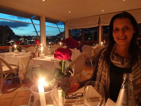 Terrazza Brunella: Restaurante romântico com linda vista!