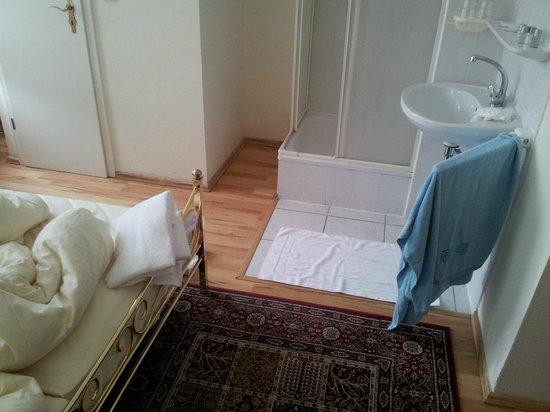 """Hotel Aran: Это """"ванная"""" в двухместном номере"""