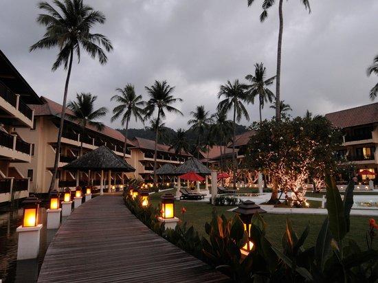 The Emerald Cove Koh Chang: Hotelgarden